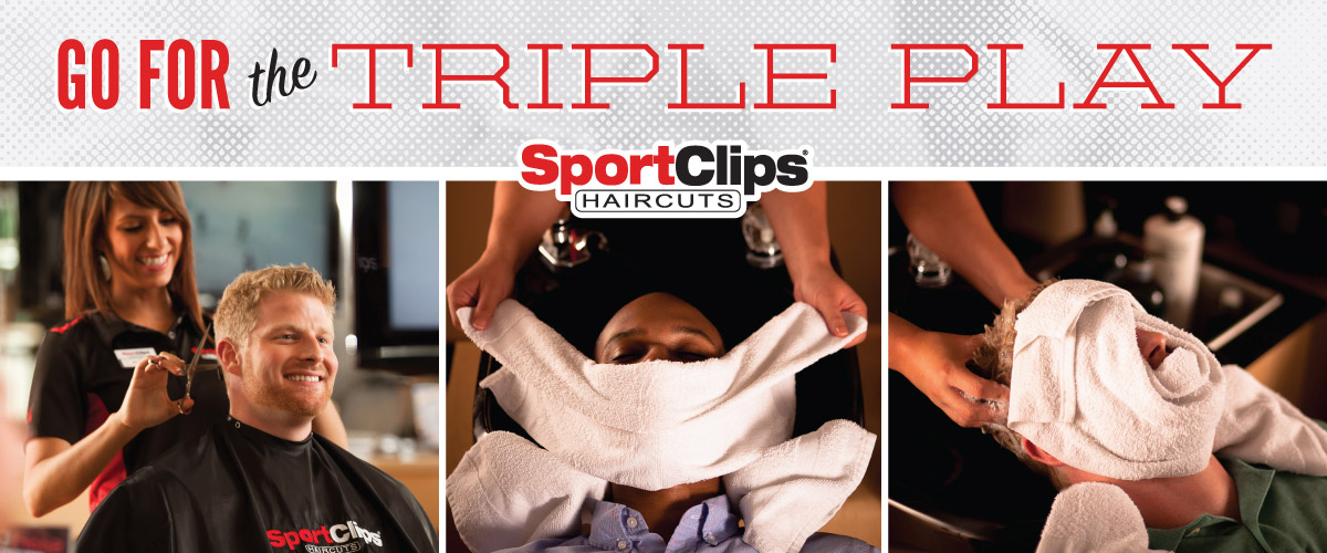 The Sport Clips Haircuts of Wildwood Triple Play